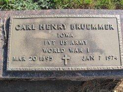 Pvt Carl Henry Bruemmer