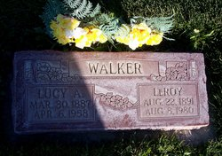Lucy <I>Anderson</I> Walker