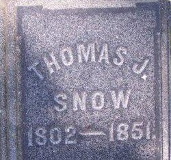 Thomas Jefferson Snow