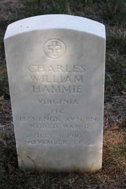 PFC Charles William Hammie