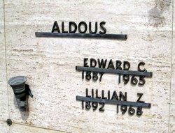 Lillian Caroline <I>Zemke</I> Aldous