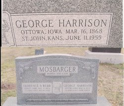 George Harrison Mosbarger