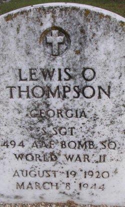 Sgt Lewis O Thompson