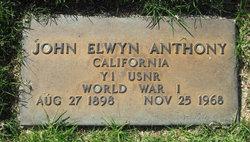 "John Elwyn ""Barney"" Anthony"