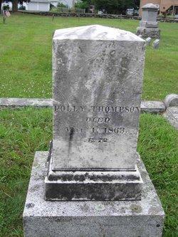 Polly <I>Witt</I> Thompson