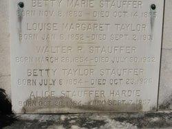 Alice Preston <I>Stauffer</I> Hardie