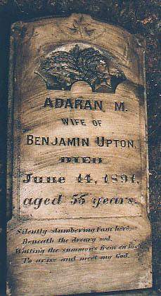 Adaran Miranda <I>Walden</I> Upton