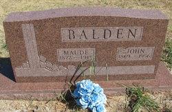 John Samuel Balden