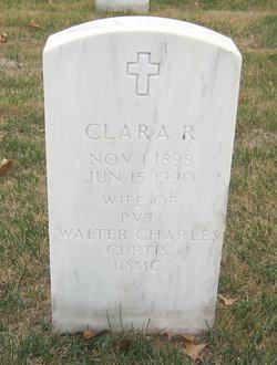Clara R Curtis