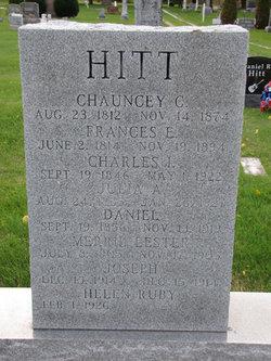 Chauncey Commodore Hitt