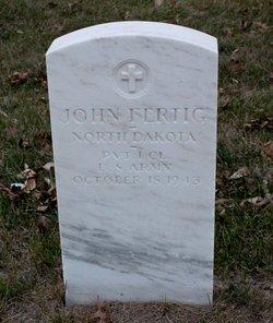 Pvt John Fertig