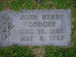 John Henry Dodgen