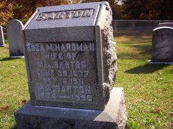 Rose M <I>Hardman</I> Barton