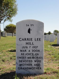 Carrie Lee Hill