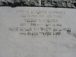 Myrthe <I>Stauffer</I> Schwartz