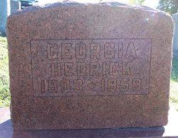 Georgia <I>Trimble</I> Hedrick