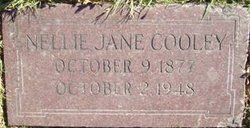 Nellie Jane <I>Hill</I> Cooley