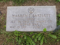 Warren F. Bartlett