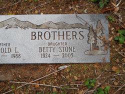 Betty <I>Stone</I> Brothers