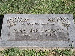 Nina Mae <I>Coleman</I> Gabbard