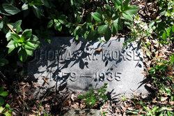 Capt Thomas Morrison Morse