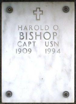 Harold O Bishop