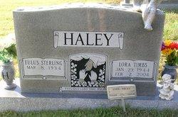Eulas Sterling Haley