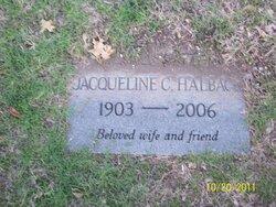 Jacqueline <I>Christian</I> Halback
