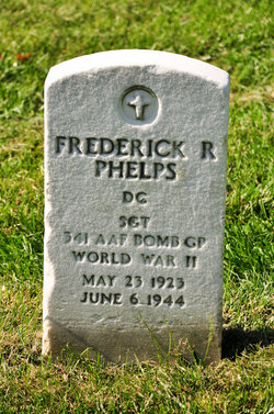 Sgt Frederick R Phelps
