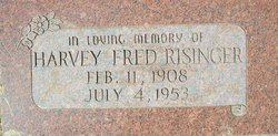 Harvey Fred Risinger