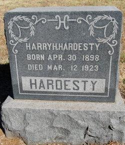 Harry Harold Hardesty