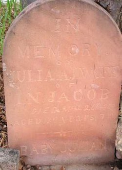 Julia Ann Jemima <I>Gerber</I> Jacobs