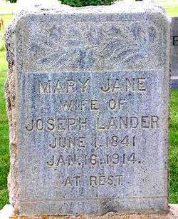 Mary Jane B Lander