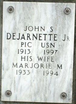 Marjorie M DeJarnette
