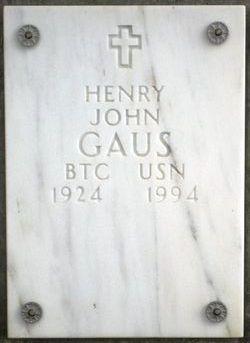 Henry John Gaus