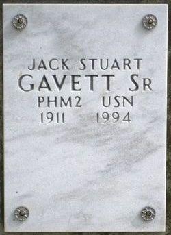 Jack Stuart Gavett, Sr