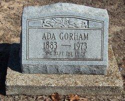 Ada Leflie <I>Ross</I> Gorham