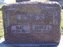"Nana Mae ""Mae"" <I>Mallory</I> Jones"