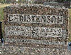 Adella Christine <I>Borslien</I> Christenson