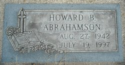 Howard B Abrahamson