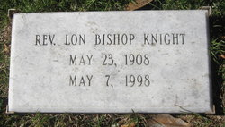 Rev Lon Bishop Knight, Sr