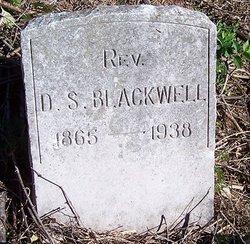 Rev D. S. Blackwell