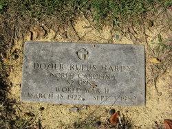 Dozier Rufus Hardy