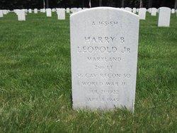 2Lt Harry B. Leopold Jr.