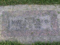 Mary Alberta <I>Card</I> Burton