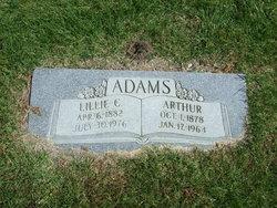 "Zina Selina ""Lillie"" <I>Chipman</I> Adams"