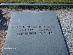 Mary Crawford <I>Nicholson</I> Chafin