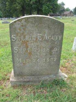 Sallie Elizabeth Acuff