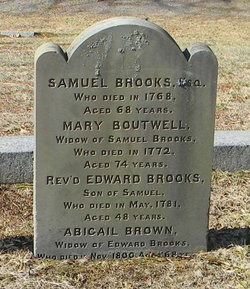 Rev Edward Brooks