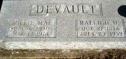 Willie Mae <I>Benge</I> DeVault